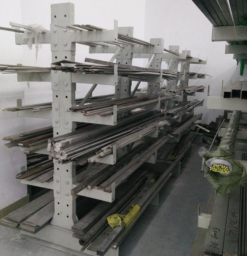 东莞货架之双悬臂式货架定制案例